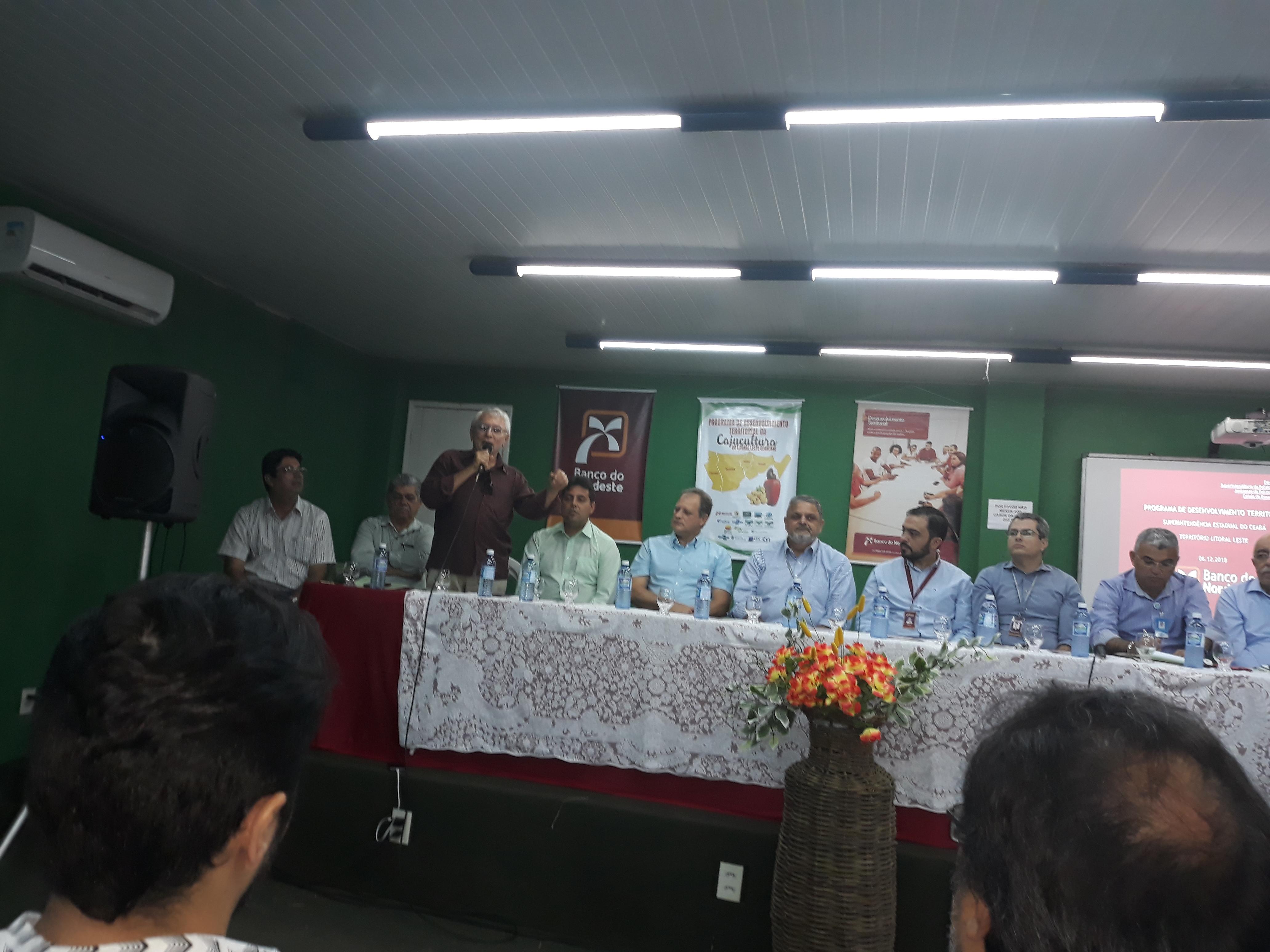 Ematerce presente no lançamento do Plano de Ação Territorial para o Desenvolvimento da Cajucultura