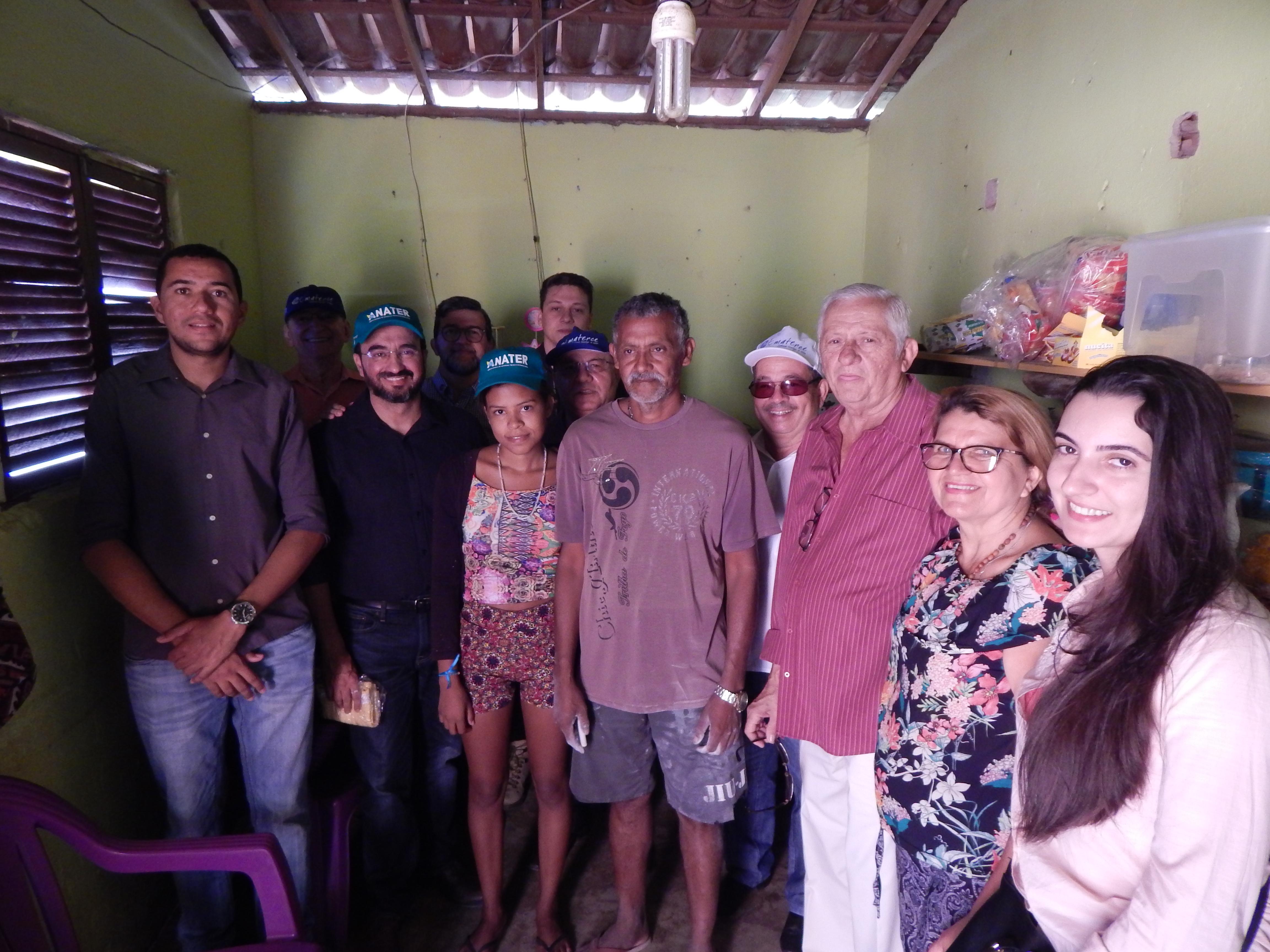 Comitiva da Anater visita comunidades do Projeto Dom Hélder e Mais Gestão no Ceará