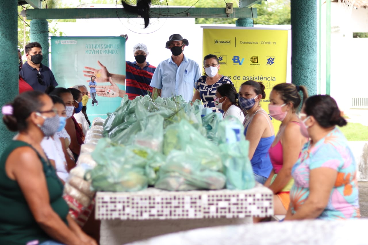 Projeto entrega primeiras cestas às entidades beneficentes de Maranguape.