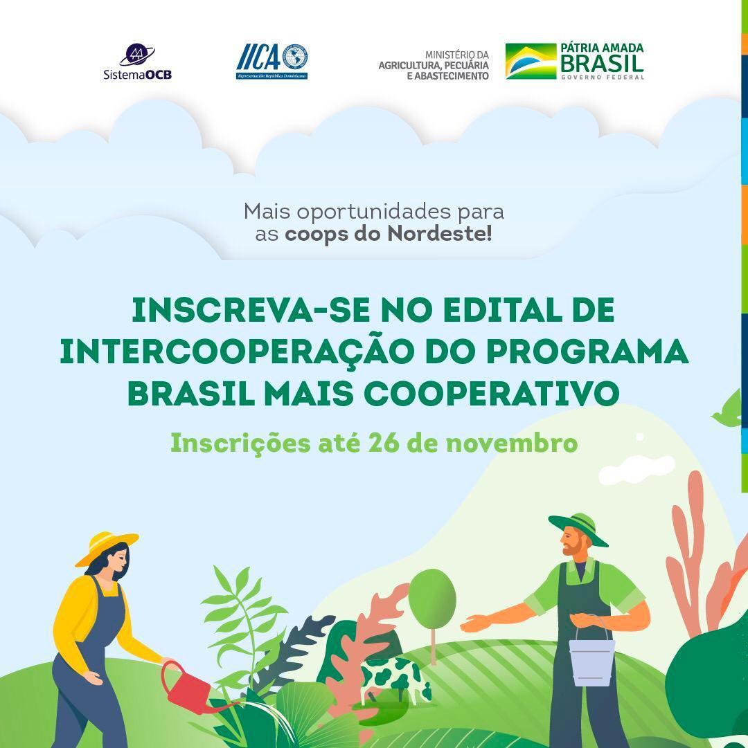 Inscrições para edital de Intercooperação vão até esta quinta-feira (26)